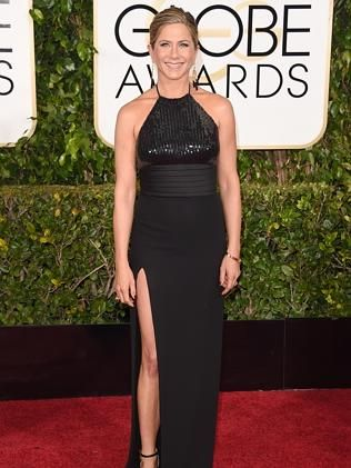 Jennifer Aniston, who is nominated for her role in Cake.