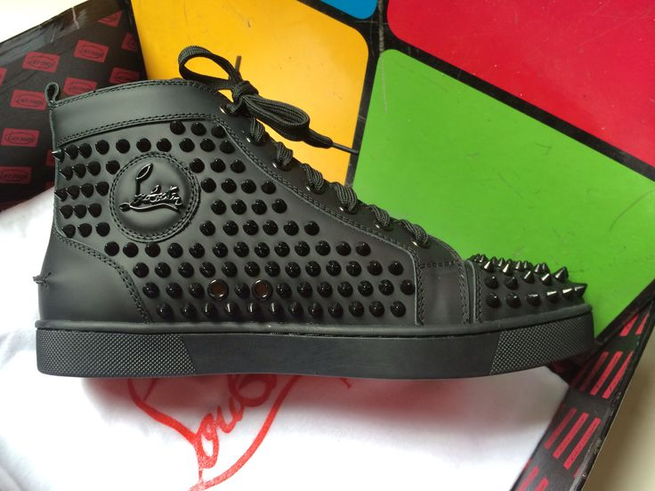 Christian louboutin shoes on Pinterest | Calf Leather, Sneakers ...