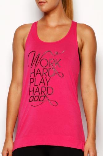 Work Hard Singlet