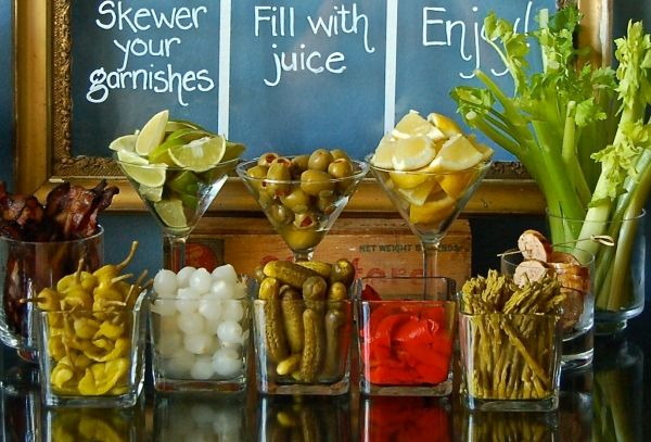 Libation Station: Build Your Own Bloody Mary Bar