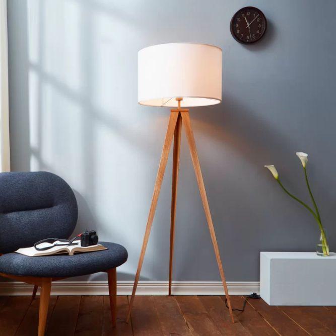 Romanza 60 23″ tripod floor lamp floor lamps for living room