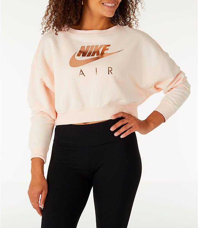 Front view of Women's Nike Sportswear Rally Crew Sweatshirt
