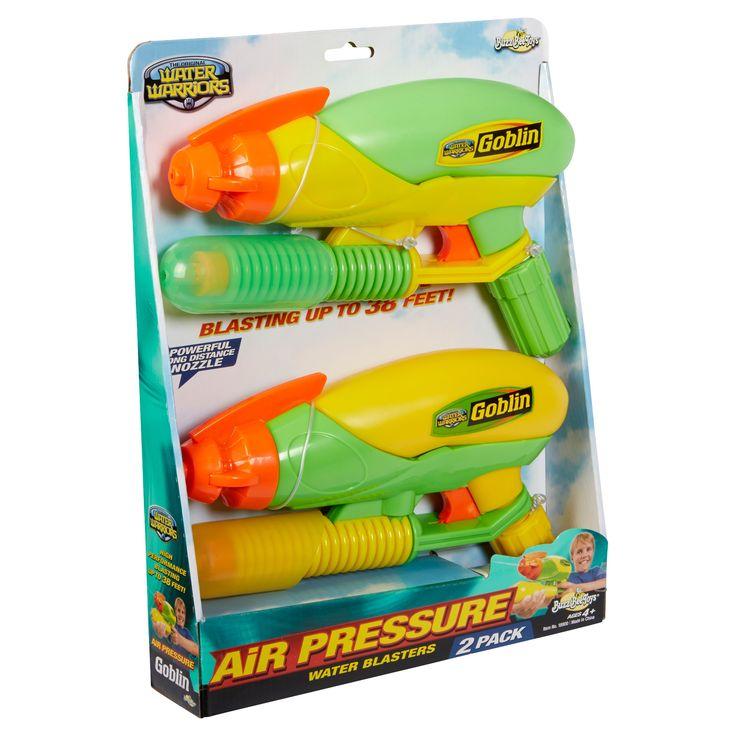 Buzz Bee Toys Water Warriors Goblin Water Blaster 2pk