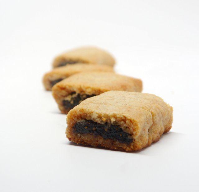 Fig Newtons (gluten-free, grain-free, vegan)