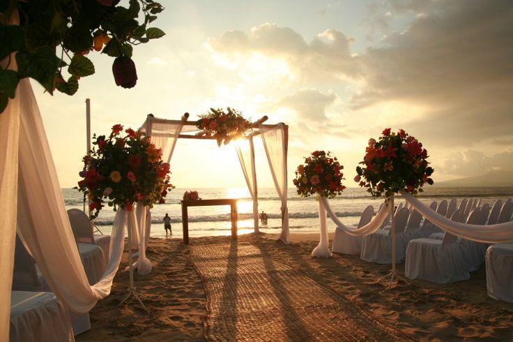 DECORACION PLAYA | Tips para decorar la ceremonia de boda en playa