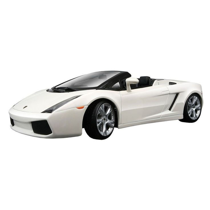 Maisto Special Edition - Lamborghini Gallardo Spyder Model Car 1:18 - White (31136)  Manufacturer: Maisto Enarxis Code: 018068 #toys #Maisto #miniature #cars #Lamborghini #Gallardo #Spyder