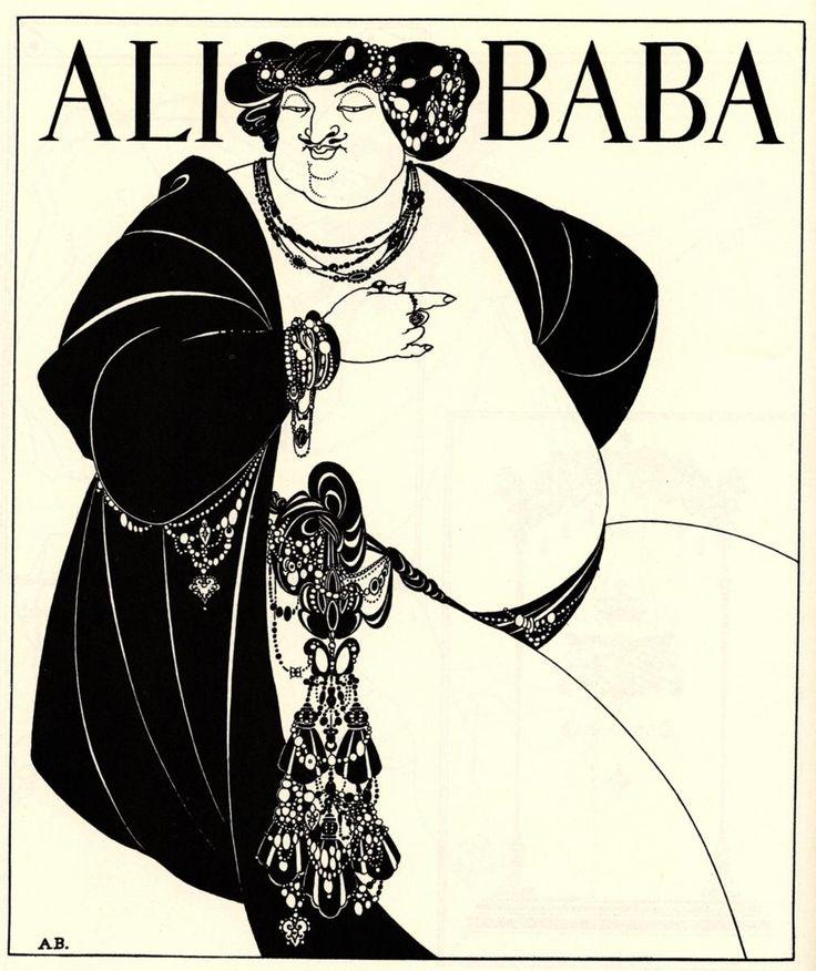 Aubrey Beardsley (1872–1898) #art #nouveau: