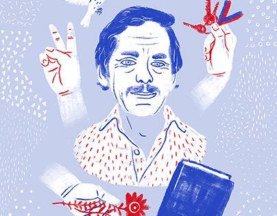 """Check out new work on my @Behance portfolio: """"Velvet Havel - Havel Festival Illustration"""" http://be.net/gallery/43874553/Velvet-Havel-Havel-Festival-Illustration"""