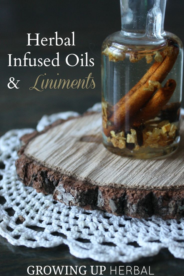 Using Herbs: Herbal Infused Oils and Liniments | Growing Up Herbal | Herbal infused oils and liniments are two easy to make preparations that have lots of great uses!