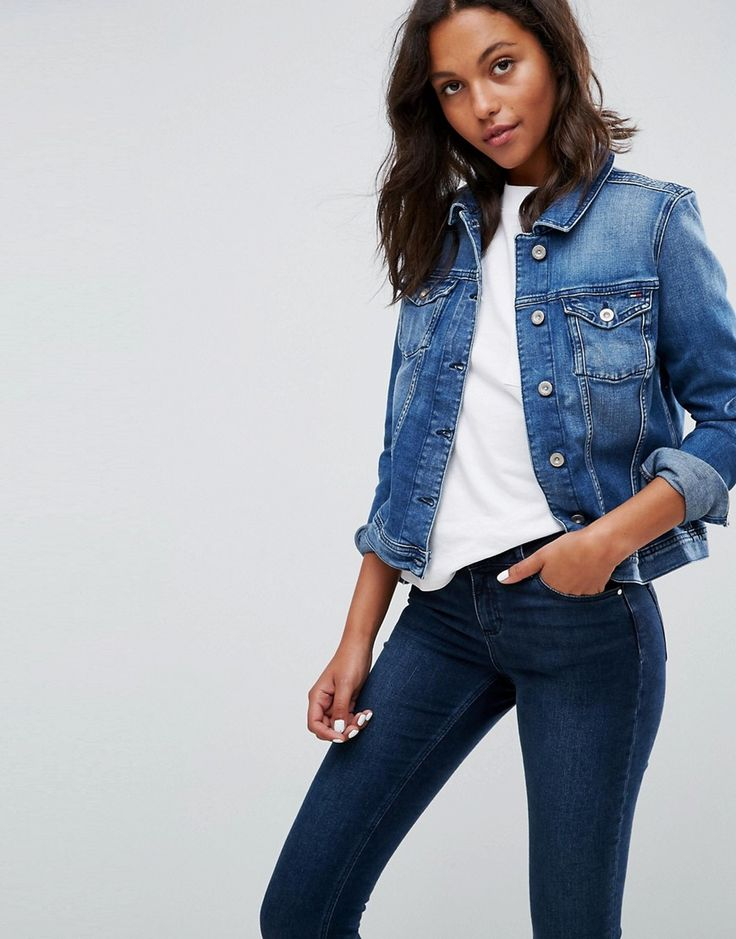 Tommy hilfiger jeansjacke asos