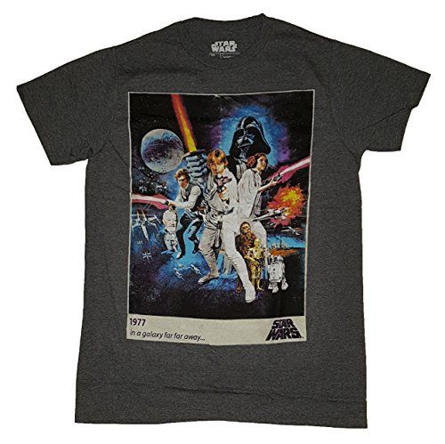 Buy Star Wars A New Hope Movie Poster Graphic T-Shirt - Topvintagestyle.com ✓ FREE DELIVERY possible on eligible purchases