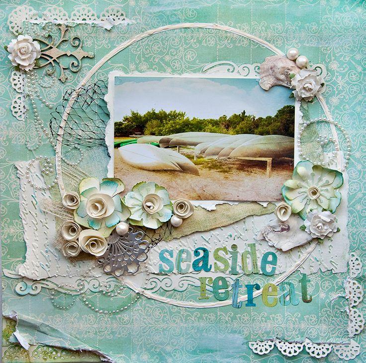 Seaside Retreat - Scraps Of Elegance -like the matting