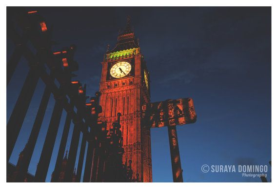 London Big Ben Night Photography Architecture Landscape Abstract Creative Photography Fine Art Giclee Photo Print 8x10 8x12 11x14 12x18 on Etsy, $36.52 AUD