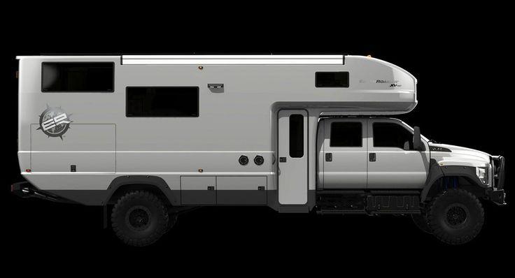 Ford F-650 EarthRoamer XV-HD: Luxusný karavan do extrémnych podmienok za milión dolárov!