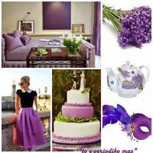 Lavender inspired #moodboard from the blog http://toperiodikomas.blogspot.no, lovely!