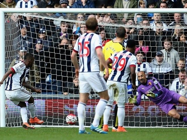 Result: Heurelho Gomes saves two penalties to give Watford win over West Brom