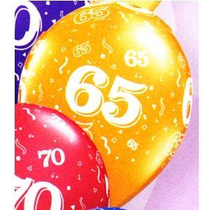 65th Latex Balloons