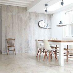 Wandpaneele aus Holz weiß lasieren – 35 Ideen fürs Landhaus