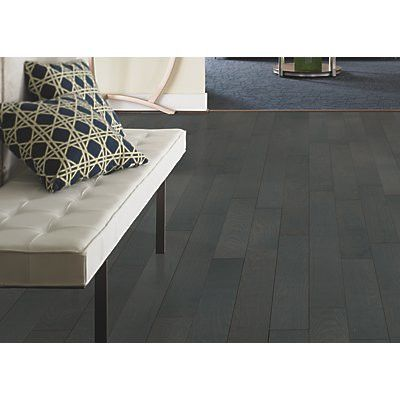 "Mohawk Randhurst SWF 3-1/4"" Solid Oak Hardwood Flooring in Shale"