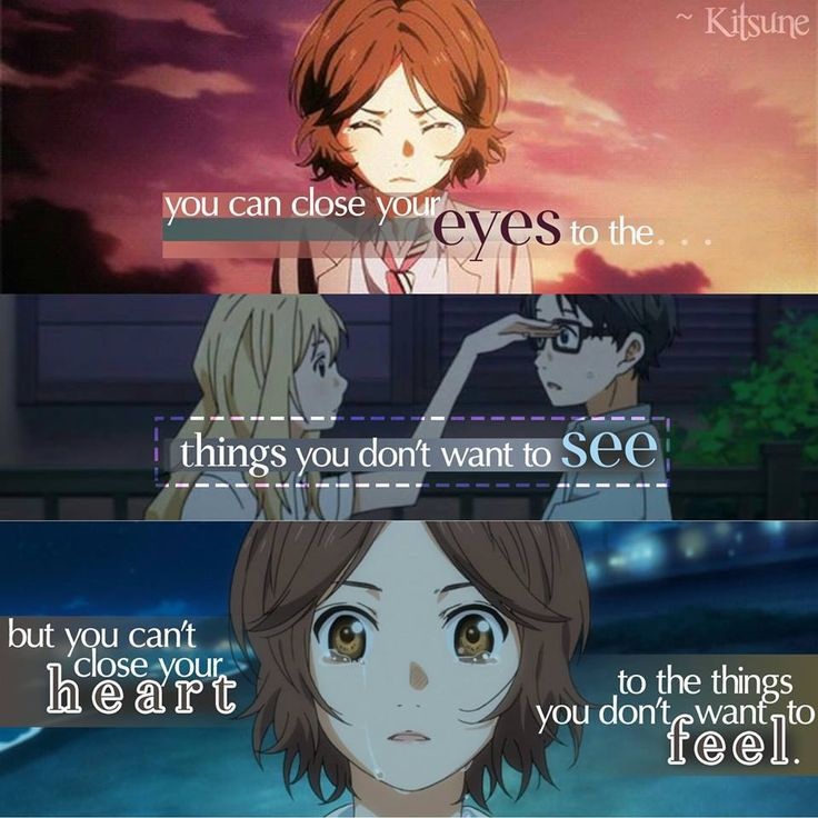 Anime: Your Lie in April...no you  really can't do this...feelings are a bit mean...maybe more than  bit...