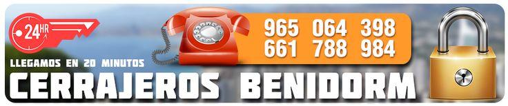 http://www.cerrajerosbenidormrr.com - #CerrajerosBenidorm - #Cerrajeros #Benidorm RR es una empresa con mas de 15 años de #experiencia en el sector de la #cerrajería ubicados en la #comunidad de #alicante, encargada de dar #servicio a distintas ubicaciones, entre ellas contamos con #cerrajeros en #benidorm....
