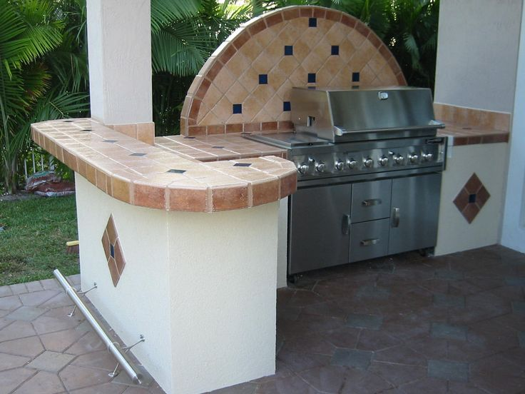 9 best Barbeque (Built-in) Designs images on Pinterest | Outdoor ...