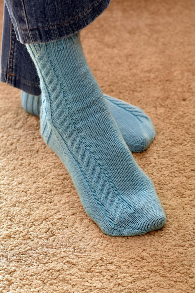 246 best Knitted socks....villasukkia images on Pinterest | Knit ...