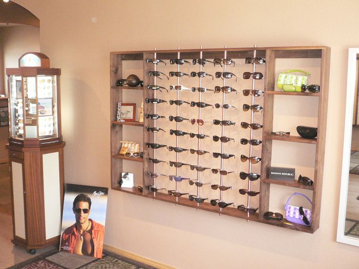 17 best images about optical shop stuff on pinterest optician frame display and retail - Muur hutch ...