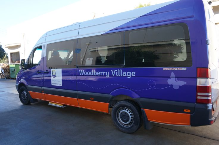 Cunneen Signs -Anglican Retirement VIllage Vinyl bus wrap.Vinyl Wrap