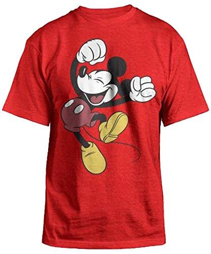 Everyone loves to wear Mickey Mouse T shirts and there are so many styles and colors that you could wear a different one every day. These Mickey Mouse T Shirts