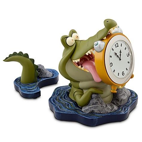 Disney Villains Tick-Tock the Crocodile Desk Clock