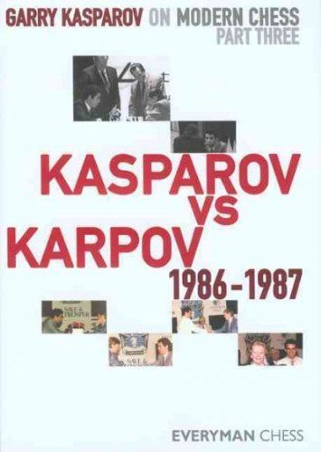 Garry Kasparov On Modern Chess Kasparov Vs Karpov 1986-1987 Garry Kasparov On Modern Chess -- Visit the image link more details.