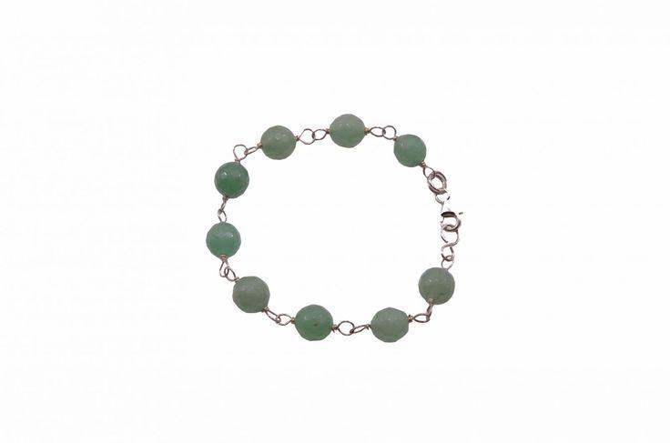 Βραχιόλι με αβεντουρίνη - Bracelet with aventurine