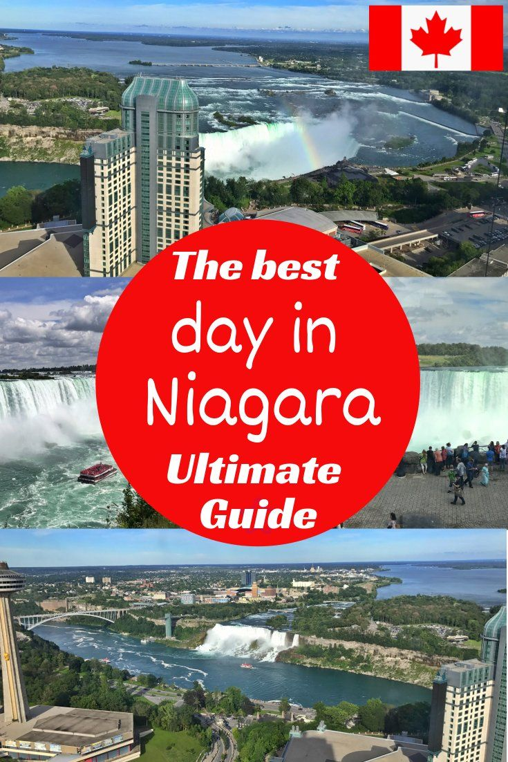 Niagara Falls in a day : top tips and ideas