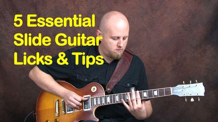 5 EZ Classic Slide Guitar Licks & Tips