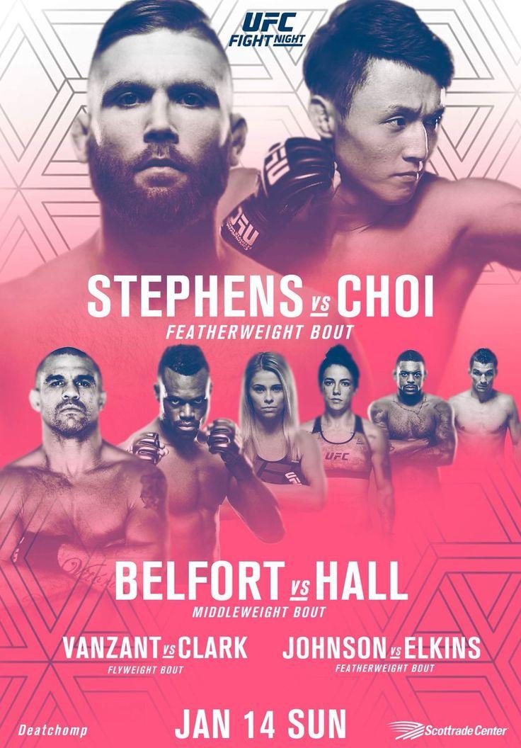 UFC FIGHT NIGHT - Vanzant vs Clark