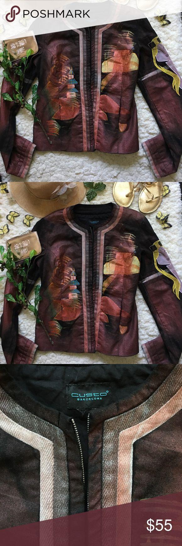 ❤Custo Barcelona Jacket❤ ❤In great used condition Jacket by Custo Barcelona In size 1❤ Custo Barcelona Jackets & Coats