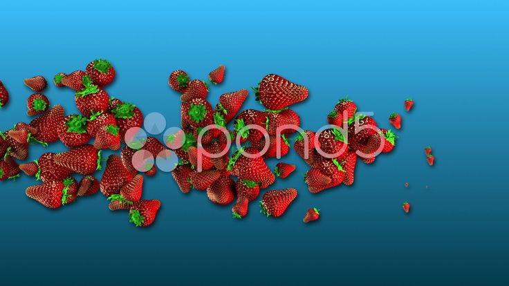 Strawberries Twist - Stock Footage | by maraexsoft