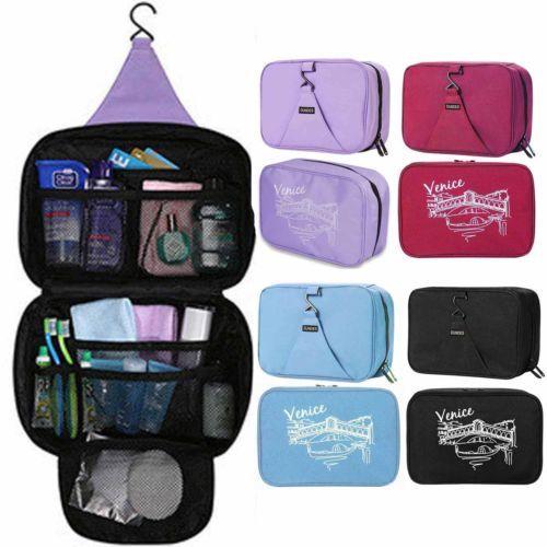Hanging Waterproof Travel Toiletry Wash Makeup Storage Cosmetic Organizer Bag | eBay