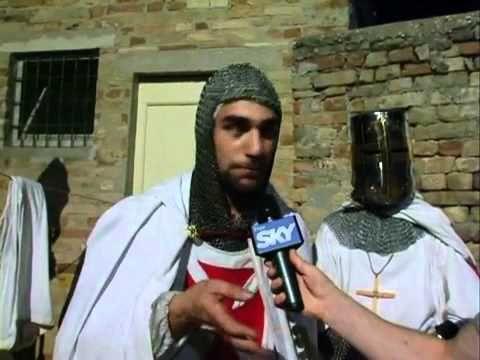 Intervista su Sky TG24 - Templaria - Castignano