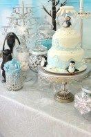 33 Amazing Winter Wonderland Cake Theme Ideas #amazing #Cake #ideas #theme #win …   – Decoration