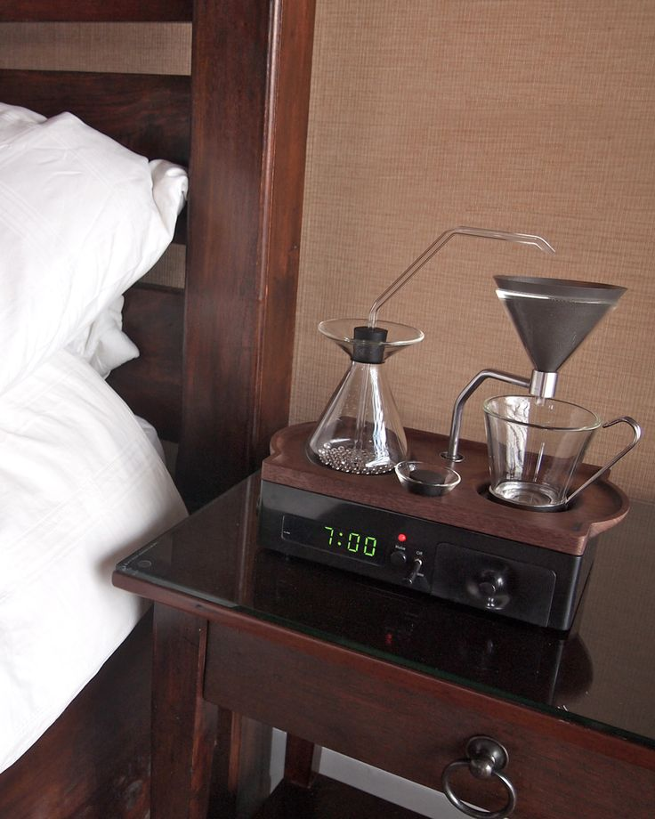 Behold: The Coffee Alarm Clock