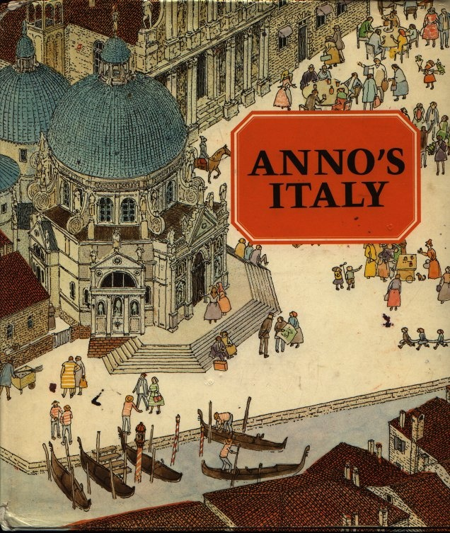 ANNO'S ITALY BY MITSUMASA ANNO