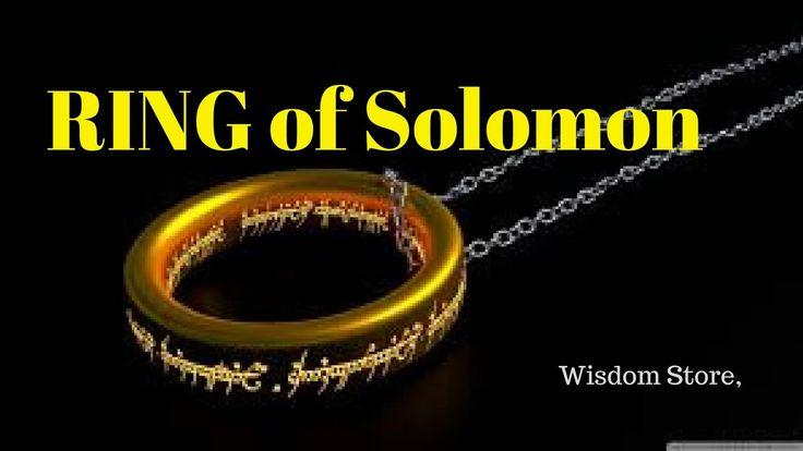 RING of Solomon- Wisdom Store, collect wisdom quote, wisdom story around...