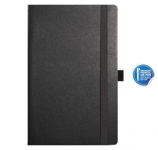 Promotional Castelli A5 notebook, Nappa medium leather notebook