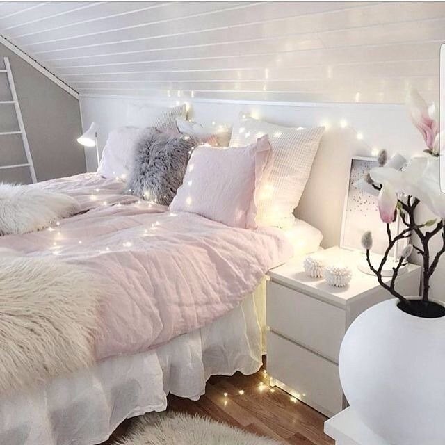 """79 Likes, 2 Comments - Margarita Bloom (@margaritabloom) on Instagram: """"Every room needs fairy lights!! How magical!! And cozy! . . . #fairylights #fairy #magical…"""""""