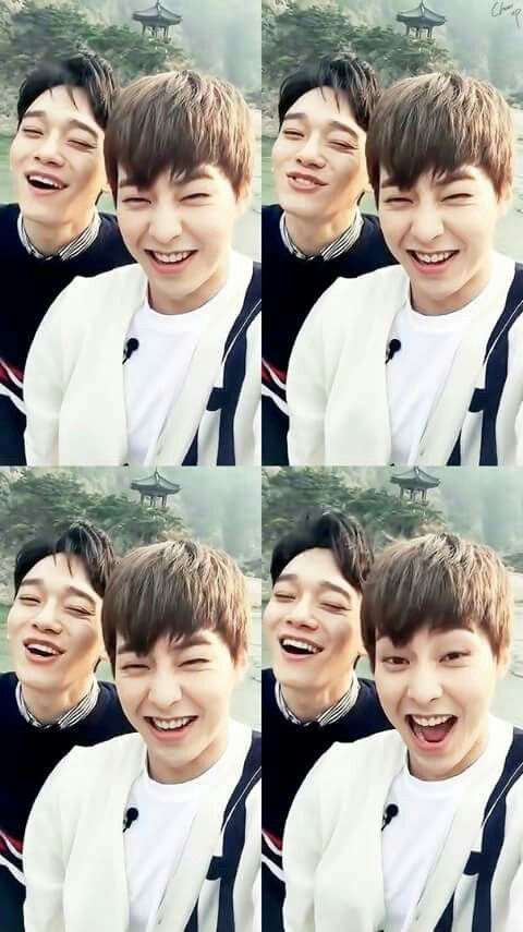 Chen and Xiumin || The cutest toots in all the land