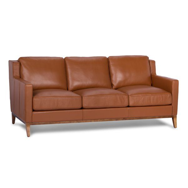You Ll Love The Cornish Genuine Leather Sofa At Wayfair Great Deals On All Furniture Products With Free Sh Genuine Leather Sofa Leather Sofa Leather Sofa Set