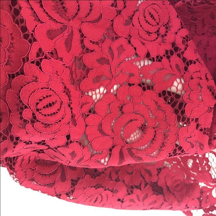1 ярд Винтаж Стиль розовый Алансон кружевной ткани, ретро цветочные motify вышитые кружева, тюль с сеткой, свадебные туфли