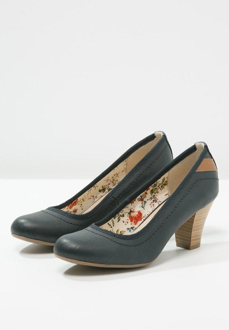 Schoenen Tom Tailor Klassieke pumps - navy Donkerblauw: 39,95 € Bij Zalando  (